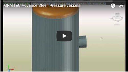Druckbehälter in Advance Steel