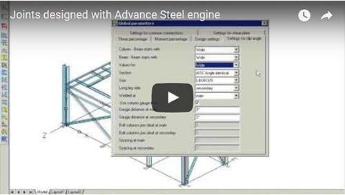Anschlussbemessung mit Advance Steel