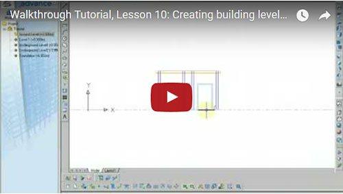 Konstruktion von Gebäudeetagen