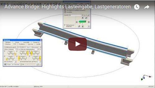 Advance Bridge: Highlights Lasteingabe, Lastgeneratoren