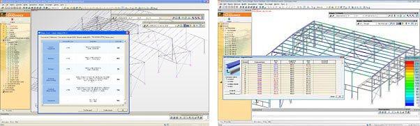 GRAITEC Advance Design | Bemessung im Stahlbau