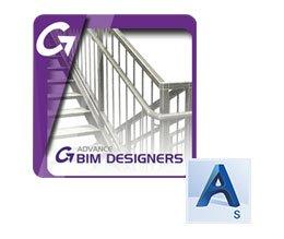 Steel Stair & Railing Designer (BIM Designer für Treppen&Geländer) für AS